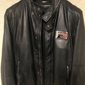 Vintage Dolce&Gabbana leather jacket (100% real)